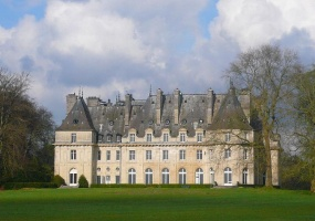Oise,France,Château,1048